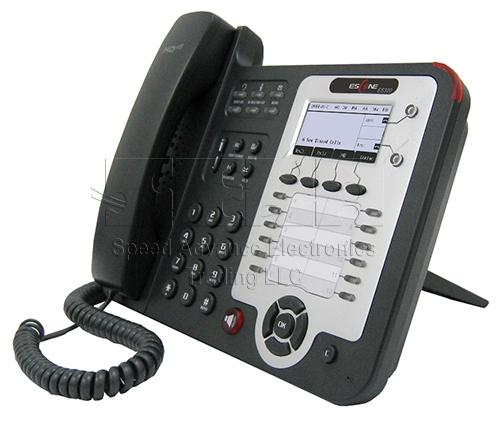 ES320-N IP Phone - Escene ES320-N Front-side view