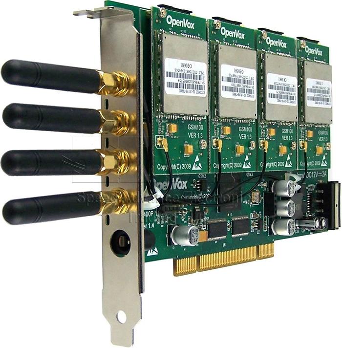 G400 GSM Card - OpenVox G400P 4 Port GSM Card