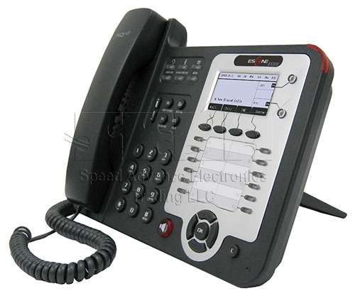 ES320-PN IP Phone - Escene ES320-PN Front-side view
