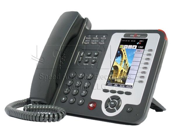ES620-PEN IP Phone - Escene ES620-PEN Front-side view